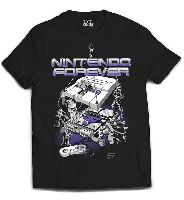 Camiseta Nintendo - Forever