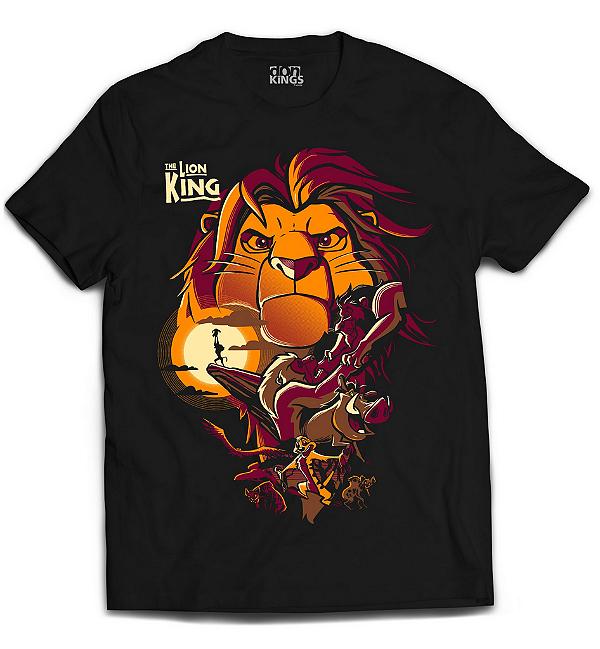 Camiseta Rei Leão - The Lion King