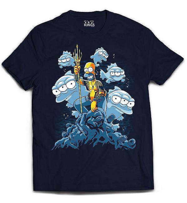 Camiseta Simpsons - Aquahomer