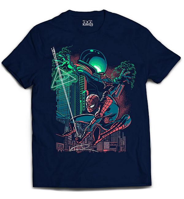 Camiseta Spider Man - Mysterio