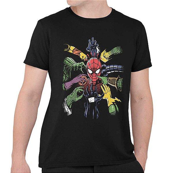 Camiseta Spider Man - Spider Vilões
