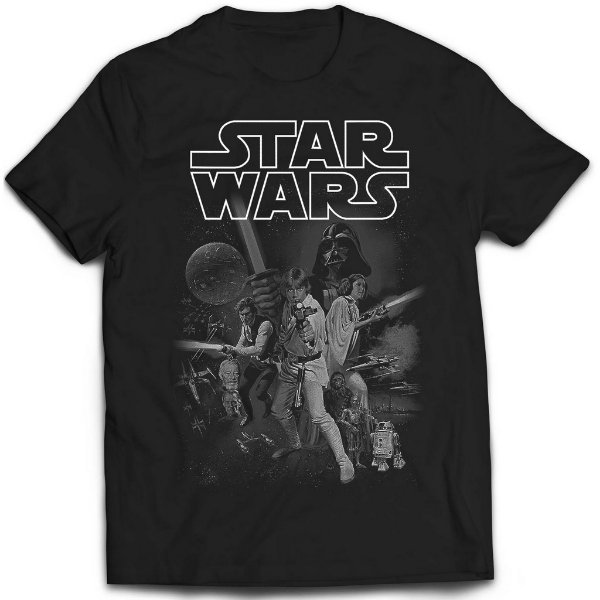 Camiseta Star Wars - Vintage