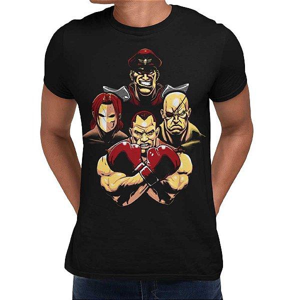 Camiseta Street Fighter - Boss SF
