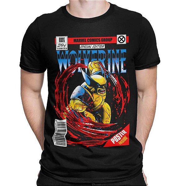 Camiseta Wolverine - HQ
