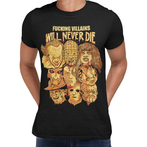 Camiseta Terror - Fucking Villains