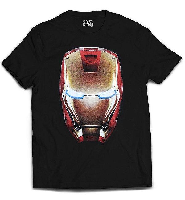 Camiseta Vingadores - Iron Man Head