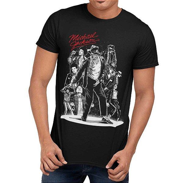Camiseta Michael Jackson - Rei do Pop