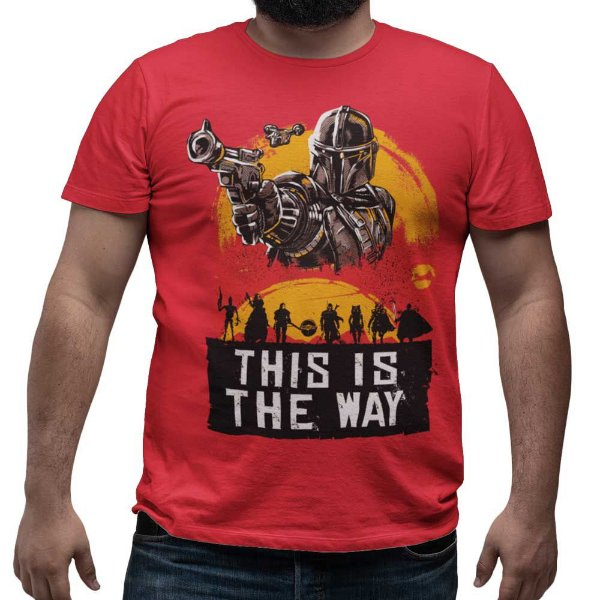 Camiseta The Mandalorian - This Is The Way