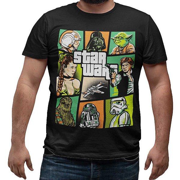 Camiseta Star Wars - Retro