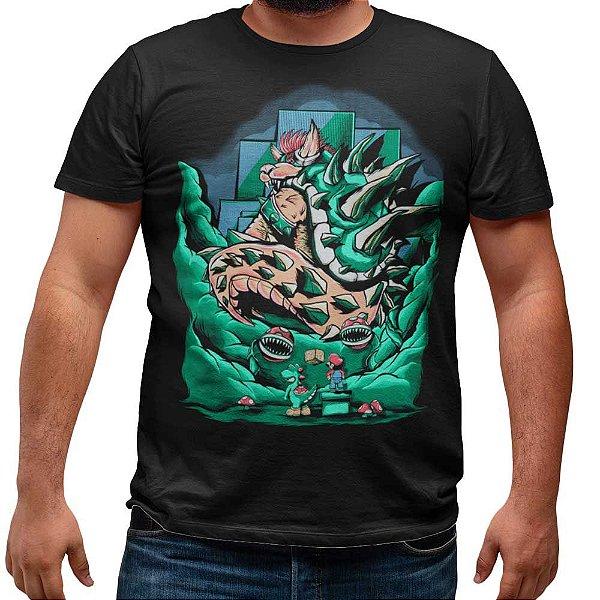 Camiseta Bowser - Godzilla