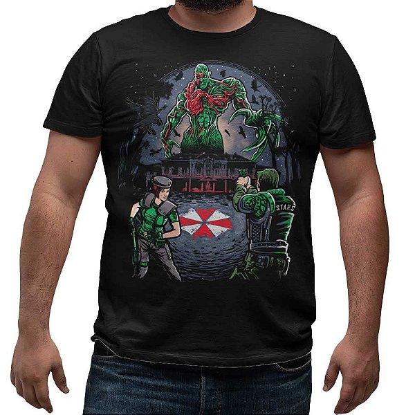 Camiseta Resident Evil - T-Vírus