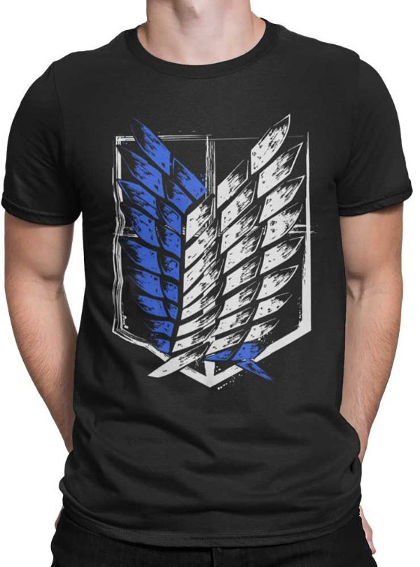 Camiseta Tropa de Exploração Emblem - Attack On Titan