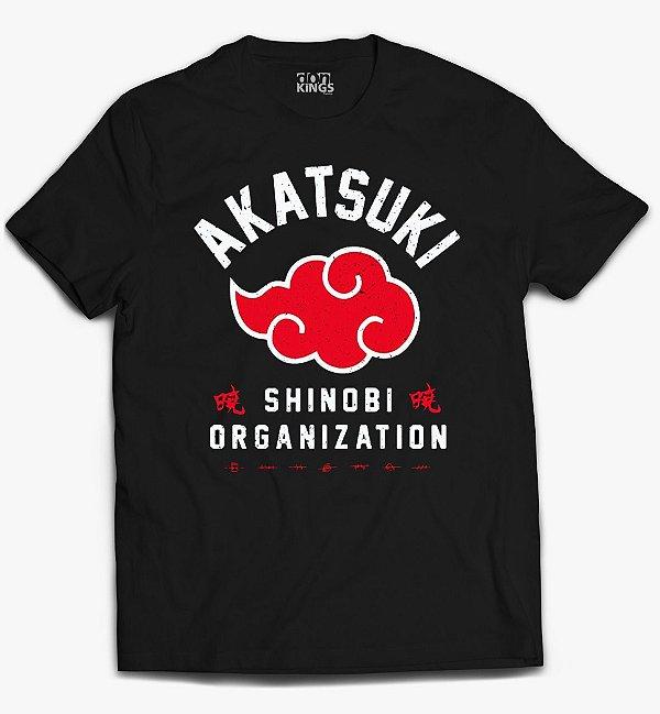 Camiseta Naruto - Akatsuki