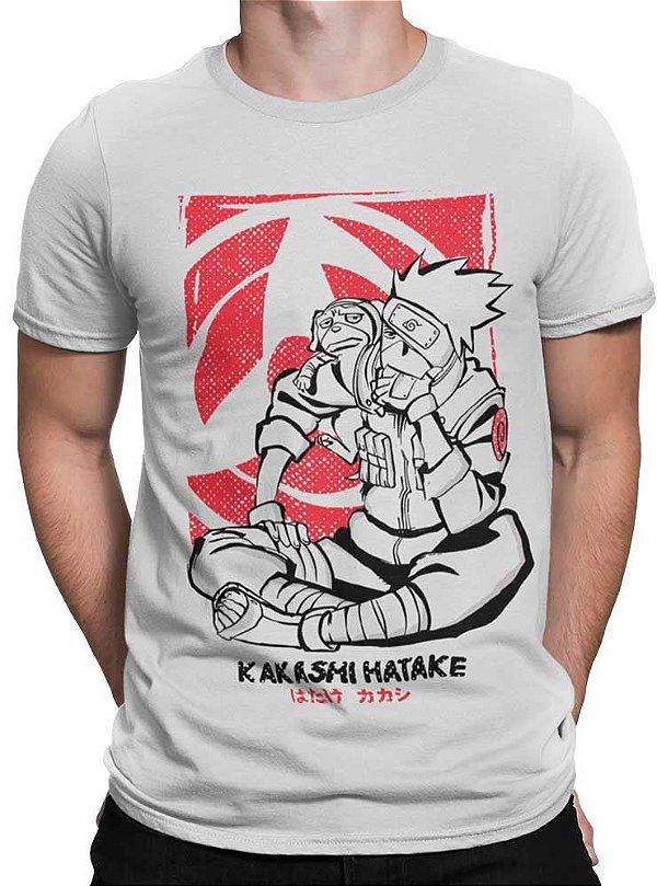 Camiseta Naruto - Kakashi Hatake