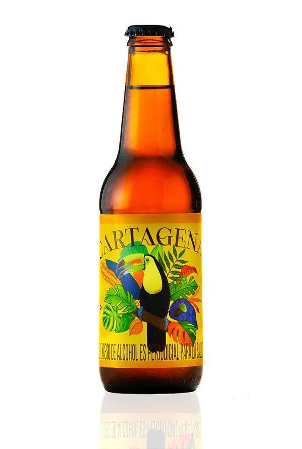 Cerveja IPA Cartagena 330ml com adição de café