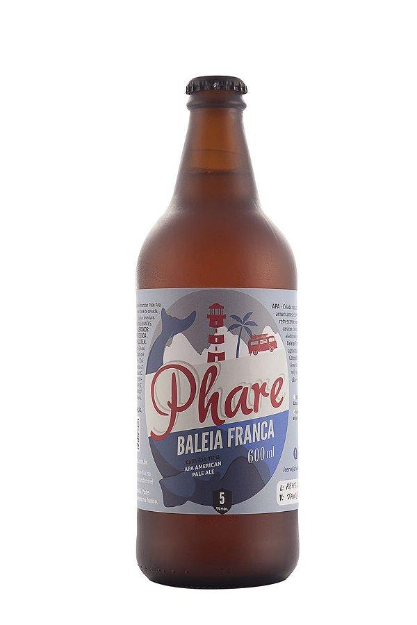 Cerveja APA (American Pale Ale) | Baleia Franca | 600ml
