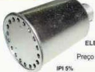 Silencioso para Compressor Elevador Rosca 3/4 Lu
