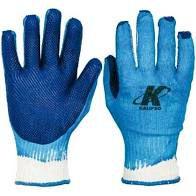 Luva Blue Grip Algodão com Látex CA 38091