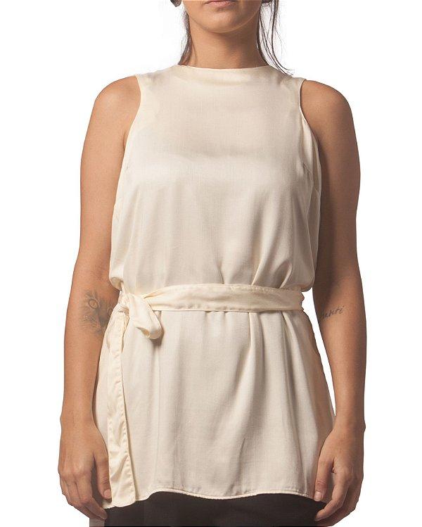 Blusa Faixa Off-White