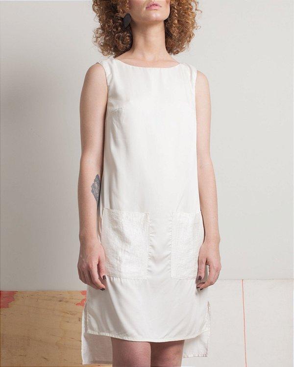 Vestido Bolsos Off-White