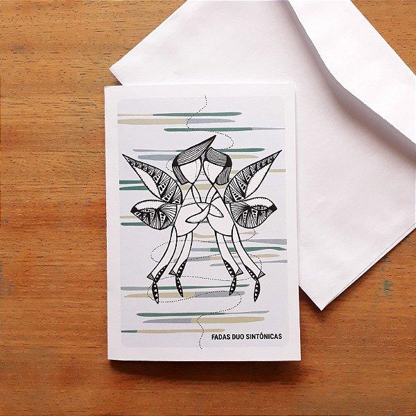 Cartão Fada Duo Sintônicas