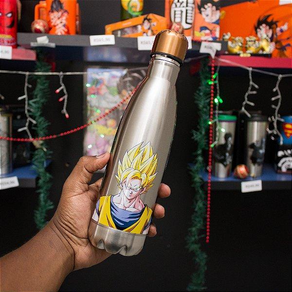 Garrafa Cantil Swell Goku Super SAYAJIN Metálico 500ml