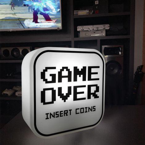 Box Luminária Game over