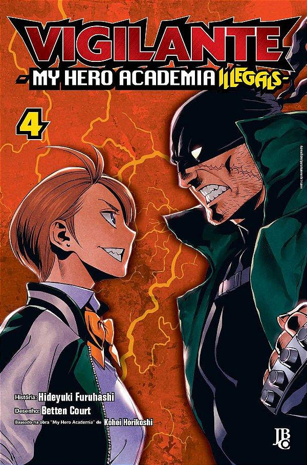 Vigilante My Hero Academia Illegals Vol. 04