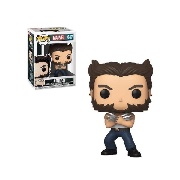Funko Pop! Marvel X-Men - Logan in Tank Top