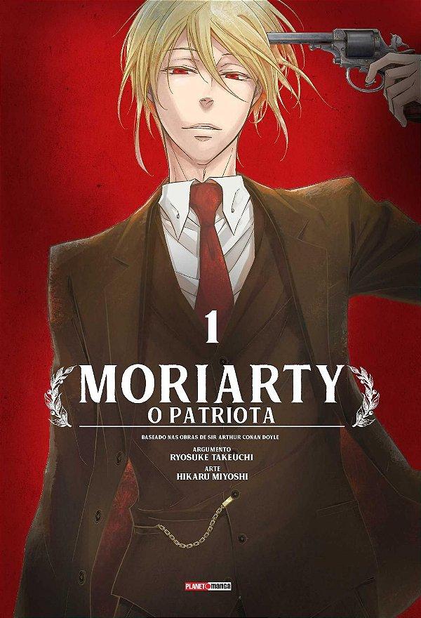 Livro - Moriarty: O Patriota Ed.001