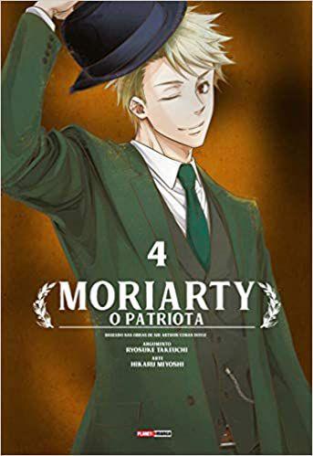 Livro - Moriarty: O Patriota - Ed. 004