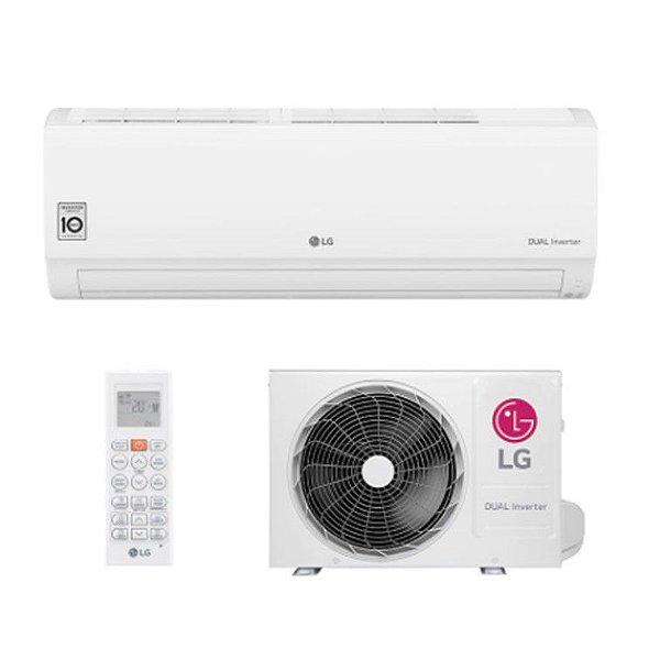 Ar Condicionado Split Hw Dual Inverter Voice Lg 12000 Btus Quente/frio 220V Monofasico