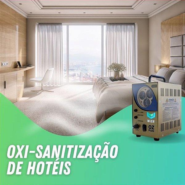 Higienização Oxi-Sanitização de Hotéis
