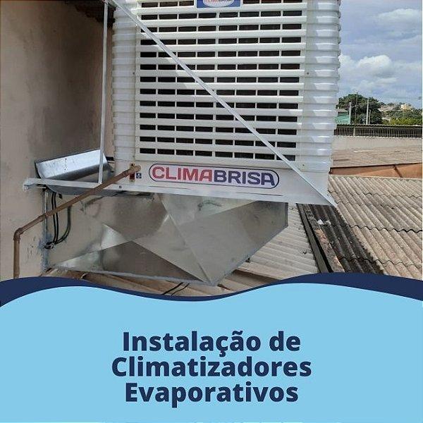 Instalação de Climatizadores Evaporativos