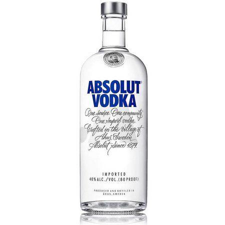 Vodka Absolut 1000 ml