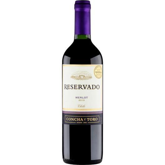 Vinho Concha Y Toro Reservado Merlot 750 ml