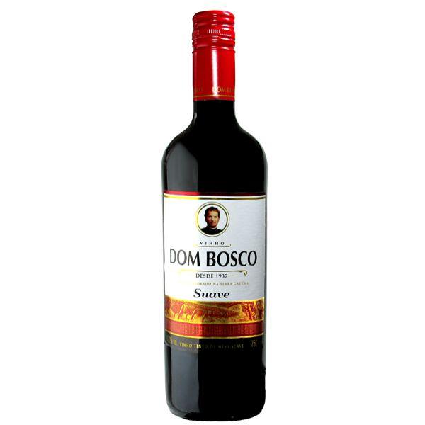 Vinho Dom Bosco Tinto Suave - 750ml