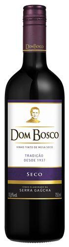 Vinho Dom Bosco Tinto Seco 750ml