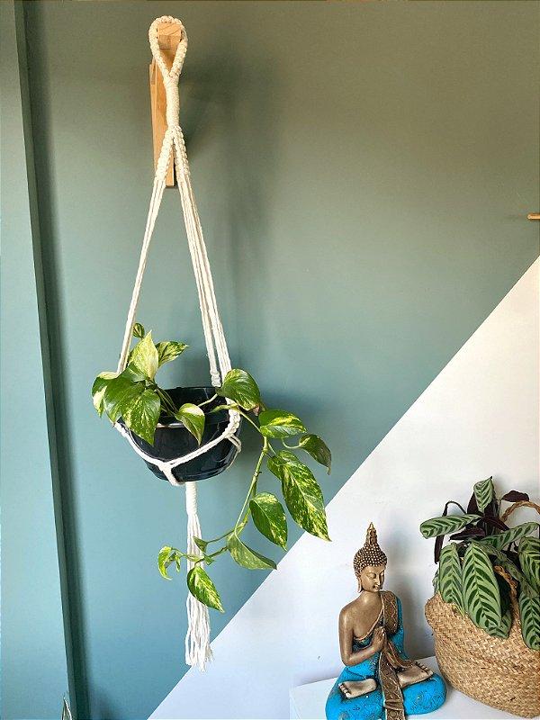 Suporte plantas Ráfia