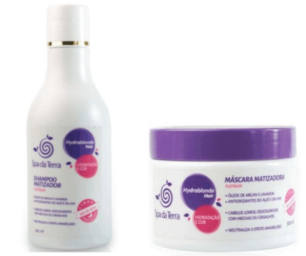 Shampoo e Máscara Matizadora
