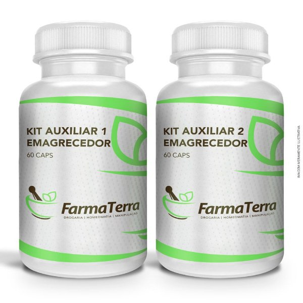 Kit Auxiliar Emagrecedor - 120 Doses