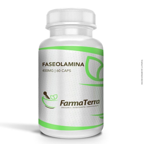Faseolamina 400mg - 60 Caps