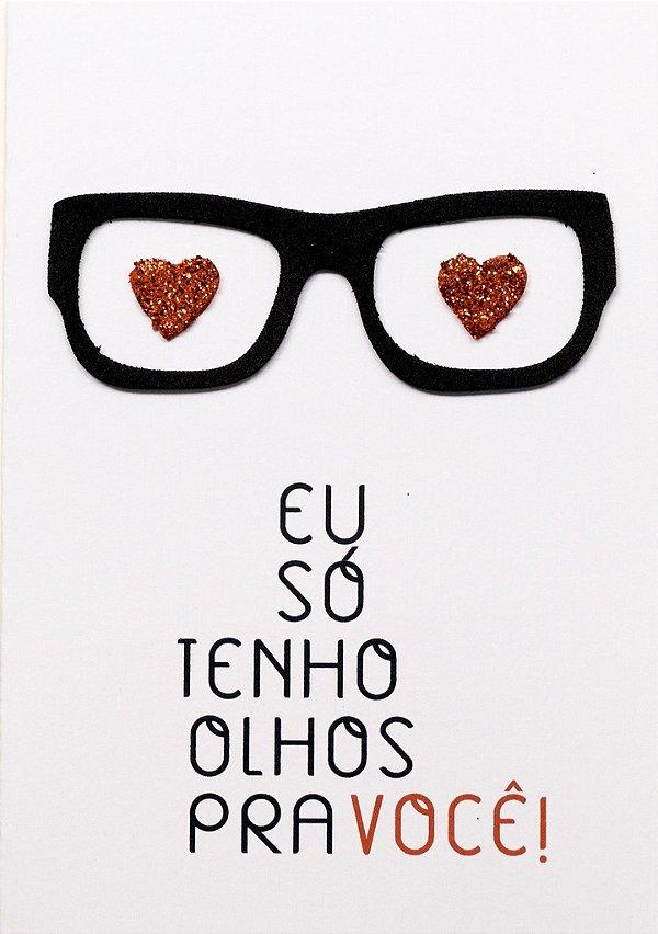 Cartão Oculos