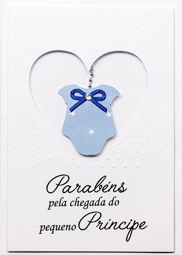 Cartão  Bebê Principe