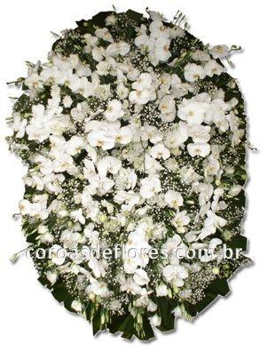 Coroa de Flores 14 ( Orquideas )