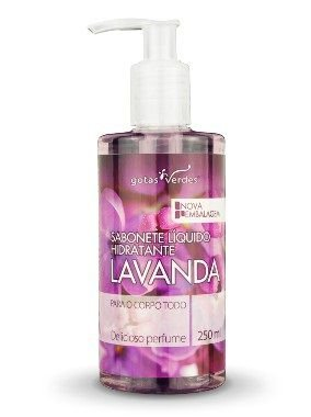 Sabonete Líquido Hidratante Lavanda 250 ml