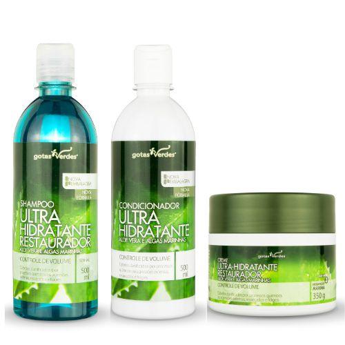Kit Ultra Hidratante Restaurador Aloe Vera