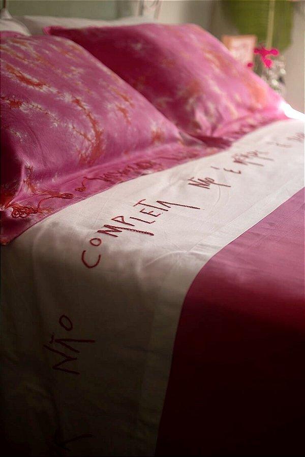 Conjunto Amor é Dobro cama king