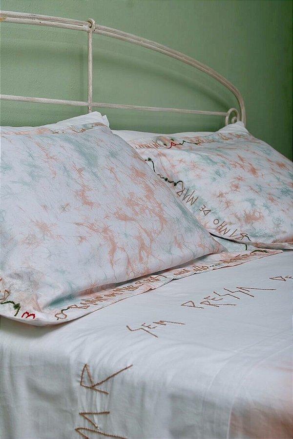 Conjunto Amor é Quente cama king