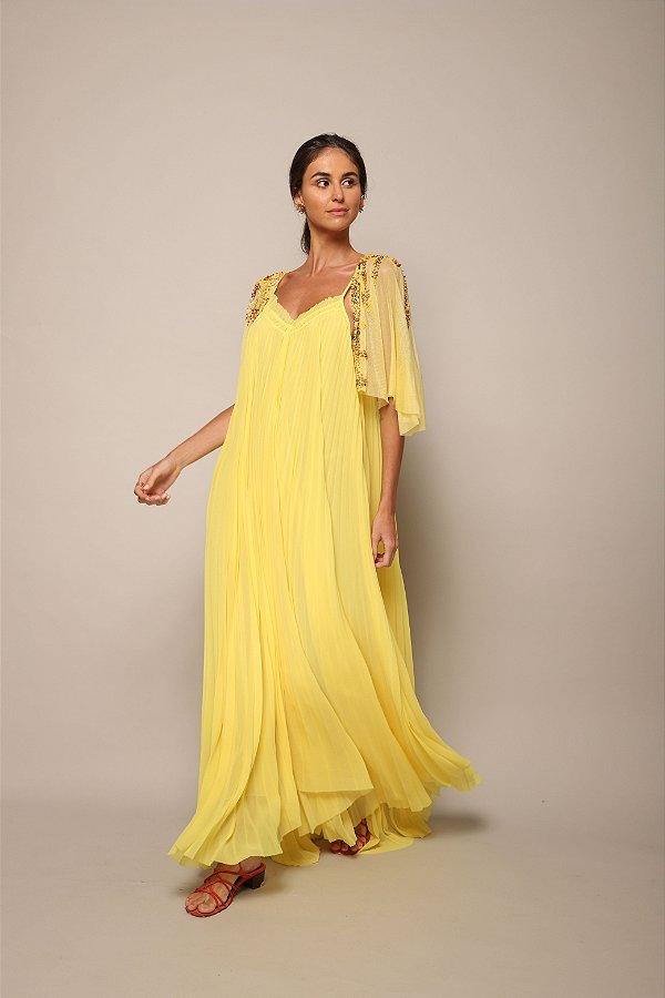 Vestido Plissé Soleil